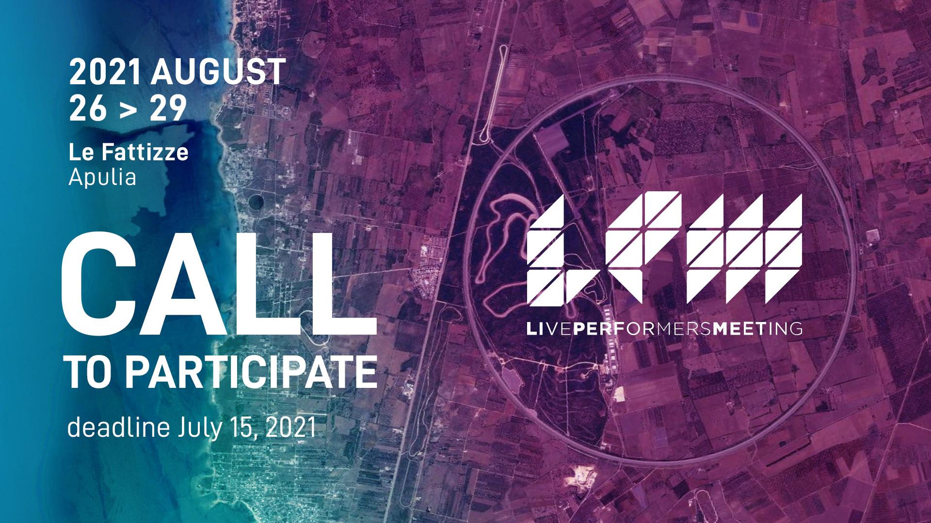 Image for: LPM 2021 Apulia | CALL TO PARTICIPATE